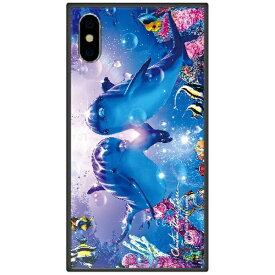 藤家 Fujiya iPhone XS Max 6.5インチ用 ラッセン ガラスハイブリッド A. PRECIOUS LOVE II