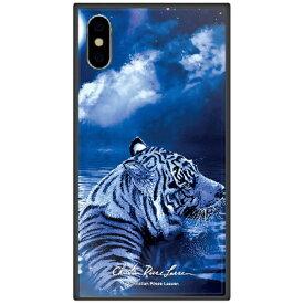 藤家 Fujiya iPhone XS Max 6.5インチ用 ラッセン ガラスハイブリッド D. MOONLIT DESTINY