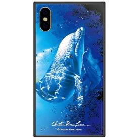 藤家 Fujiya iPhone XS Max 6.5インチ用 ラッセン ガラスハイブリッド E. NEW HOPE