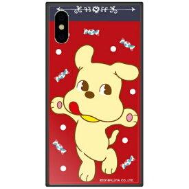 藤家 Fujiya iPhone XS Max 6.5インチ用 不二家 ガラスハイブリッド B. ミルキードッグ