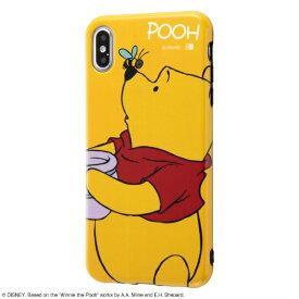 イングレム Ingrem iPhone XS Max 6.5インチモデル用 『ディズニーキャラクター』/TPUソフトケース Colorap IN-DP19CP1/PO プー