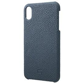 坂本ラヂヲ iPhone XS Max 6.5インチ用 Shrunken-Calf Leather Shell