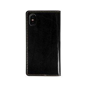 ROA ロア iPhone XS Max 6.5インチ用 Tuscany Belly ブラック