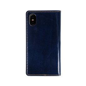 ROA ロア iPhone XS Max 6.5インチ用 Tuscany Belly ネイビー