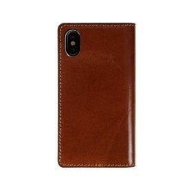 ROA ロア iPhone XS Max 6.5インチ用 Tuscany Belly ブラウン