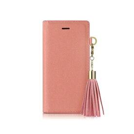 ROA ロア iPhone XS Max 6.5インチ用 Tassel Jacket ピンク