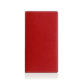 ROA ロア iPhone XS Max 6.5インチ用 Minerva Box Leather Case レッド
