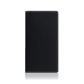 ROA ロア iPhone XS Max 6.5インチ用 Minerva Box Leather Case ブラック