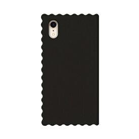 ROA ロア iPhone XR 6.1インチ用 Wave Diary ブラック