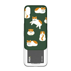 ROA ロア iPhone XR 6.1インチ用 SLIDER GRAPHIC KITTY CAT