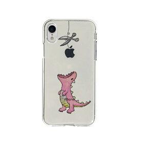 ROA ロア iPhone XR 6.1インチ用 ソフトクリアケース ファンタジー はらぺこザウルス