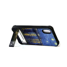 ROA ロア iPhone XR 6.1インチ用 spirit case ローヌ川の星月夜