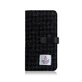 ROA ロア iPhone XS Max 6.5インチ用 Harris Tweed Diary