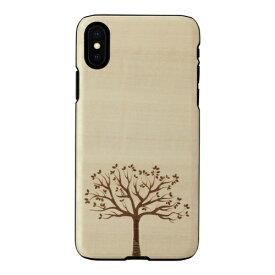 ROA ロア iPhone XS Max 6.5インチ用 天然木ケース 木