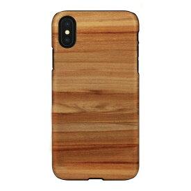 ROA ロア iPhone XS Max 6.5インチ用 天然木ケース Cappuccino