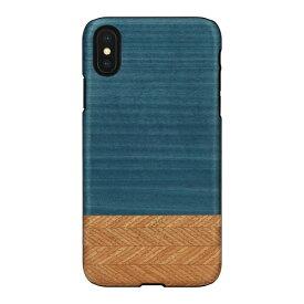 ROA ロア iPhone XS Max 6.5インチ用 天然木ケース Denim