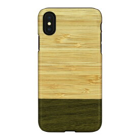 ROA ロア iPhone XS Max 6.5インチ用 天然木ケース Bamboo Forest