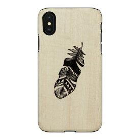 ROA ロア iPhone XS Max 6.5インチ用 天然木ケース Indian