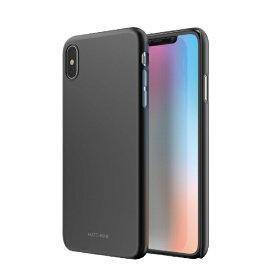 ROA ロア iPhone XS Max 6.5インチ用 HORI ブラック