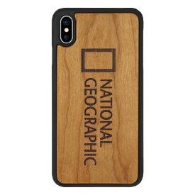 ROA ロア iPhone XS Max 6.5インチ用 Nature Wood チェリーウッド