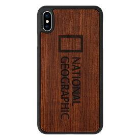 ROA ロア iPhone XS Max 6.5インチ用 Nature Wood ローズウッド