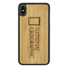 ROA ロア iPhone XS Max 6.5インチ用 Nature Wood バンブー
