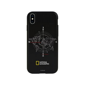 ROA ロア iPhone XS Max 6.5インチ用 Compass Case Double Protective