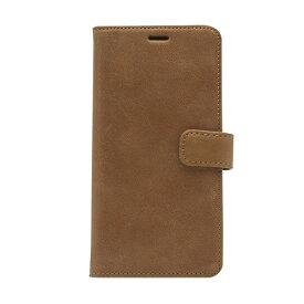 ROA ロア iPhone XS Max 6.5インチ用 Vintage Diary ビンテージブラウン