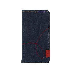 ROA ロア iPhone XS Max 6.5インチ用 Denim Stitch Diary