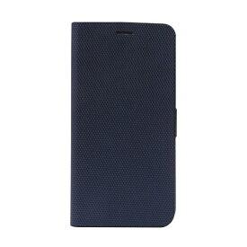ROA ロア iPhone XS Max 6.5インチ用 Metallic Diary ネイビー