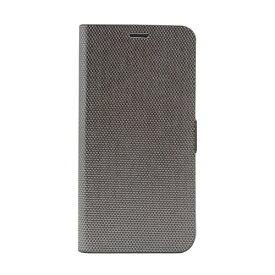 ROA ロア iPhone XS Max 6.5インチ用 Metallic Diary シルバー