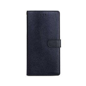 ROA ロア iPhone XS Max 6.5インチ用 CALF Diary ネイビーブルー