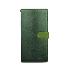 ROA ロア iPhone XS Max 6.5インチ用 CALF Diary フォレストグリーン