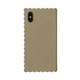 ROA ロア iPhone XS Max 6.5インチ用 Wave Diary ベージュ