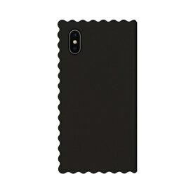 ROA ロア iPhone XS Max 6.5インチ用 Wave Diary ブラック