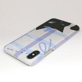ROA ロア iPhone XS Max 6.5インチ用 Cat Couple black