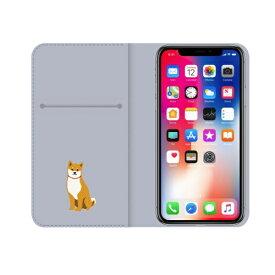 ROA ロア iPhone XS Max 6.5インチ用 しばたさんダイアリーケース さんぽ