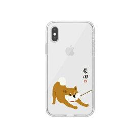 ROA ロア iPhone XS Max 6.5インチ用 しばたさんクリアケース クビワ