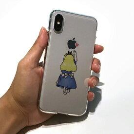 ROA ロア iPhone XS Max 6.5インチ用 ソフトクリアケース ファンタジー アリス