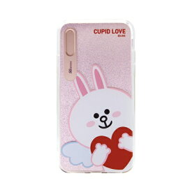 ROA ロア iPhone XS Max 6.5インチ用 LINE FRIENDS LIGHT UP CASE CUPID LOVE コニーハート KCL-LCL016
