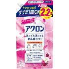 LION ライオン アクロン フローラルブーケの香り つめかえ用大(900ml)[衣類洗剤]【rb_pcp】
