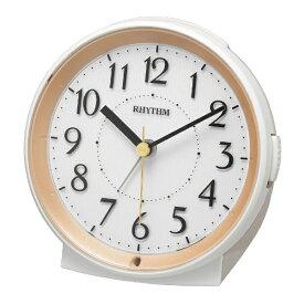 リズム時計 RHYTHM 目覚まし時計 ピュアルックR669 ベージュ 8RE669SR18 [アナログ]