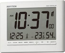 リズム時計 RHYTHM 目覚まし時計 【フィットウェーブD203】 8RZ203SR03 [電波自動受信機能有]