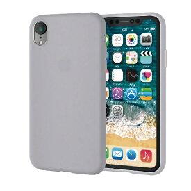 エレコム ELECOM iPhone XR 6.1インチ用 シリコンケース カラー:乳白色 PM-A18CSCCR