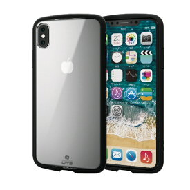 エレコム ELECOM iPhone XS Max 6.5インチ用 TOUGH SLIM LITE PM-A18DTSLCCR