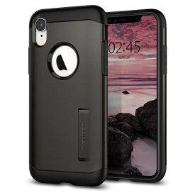 SPIGEN シュピゲン iPhone XR 6.1 Case Slim Armor Gunmetal