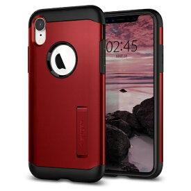 SPIGEN シュピゲン iPhone XR 6.1 Case Slim Armor Merlot Red