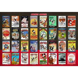テンヨー ジグソーパズル D-1000-496 Movie Poster Collection Mickey Mouse