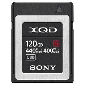 ソニー SONY 120GB XQDメモリーカード(Gシリーズ) QD-G120F[QDG120F]