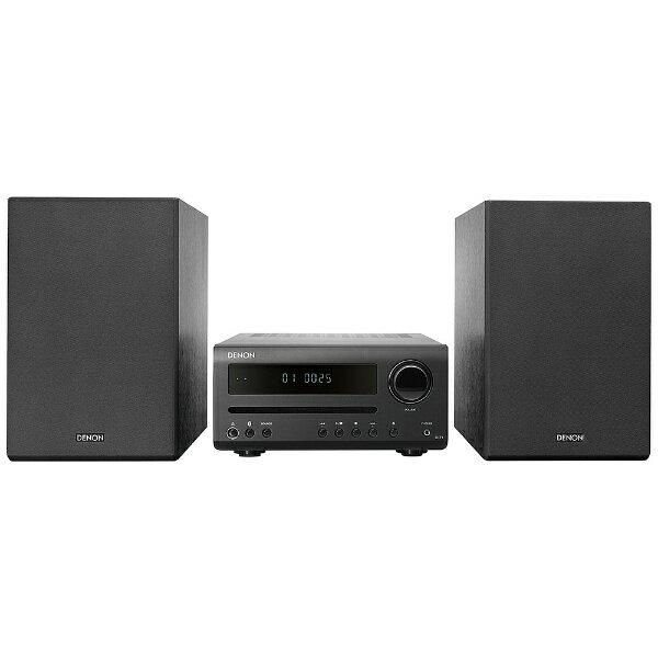 デノン Denon CDレシーバーシステム DT1K [ワイドFM対応 /Bluetooth対応 /ハイレゾ対応][DT1K]